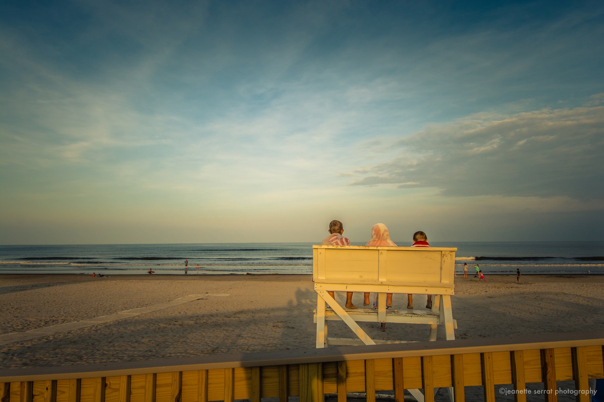 Stone Harbor - Kids on Lifeguard Station